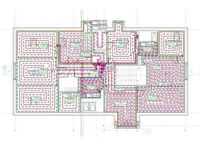 projektowanie ogrzewania budynku