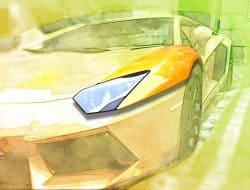 samochód część powierzhnia catia