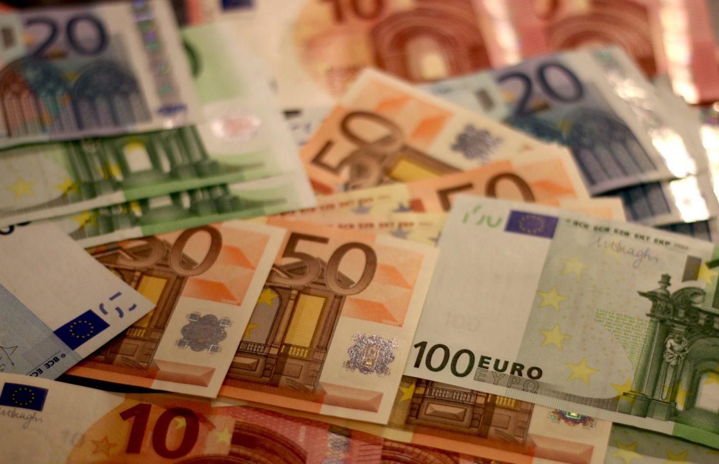 pieniądze euro