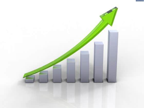 wykres wzrostu grafika